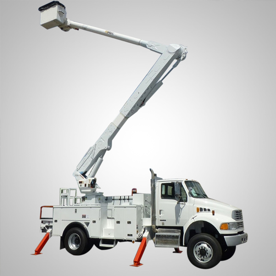 Insulated Truck Mounted Boom Lift
