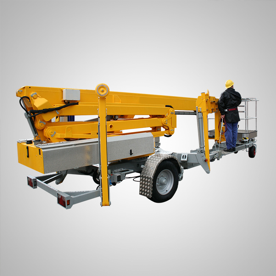 Trailer Mounted Spider Boom Lift