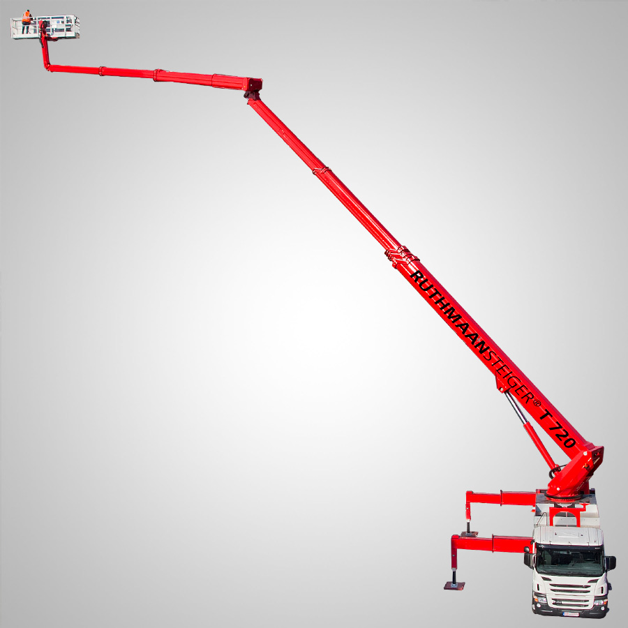Truck Mounted Boom Lift – Non Insulated